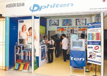 Phiten One Utama - Store Front